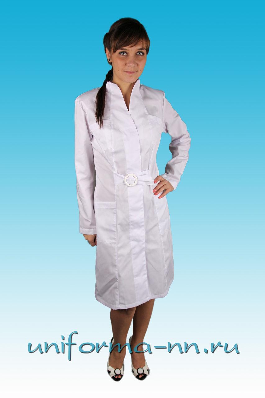 Купить медицинский халат большого размера 4